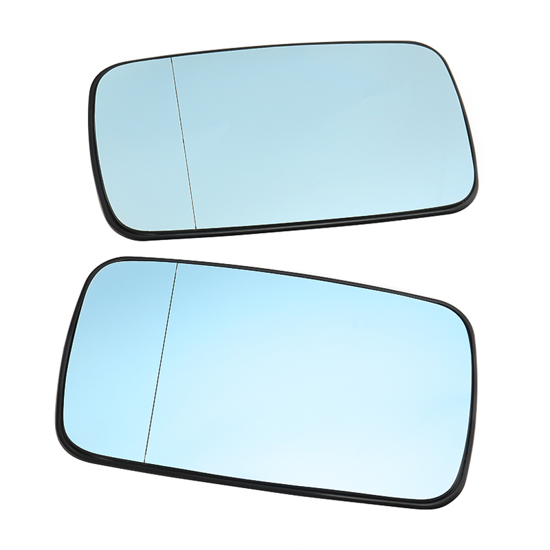 blue Aspherical Heated Right Wing Side Mirror Glass Fits MERCEDES W140 1993-2001