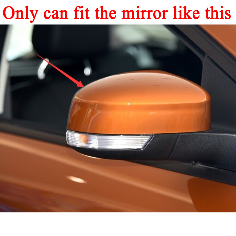 Front Left /& Right Side For Ford Focus 2012-2014 Back Mirror Glass Heated Plate